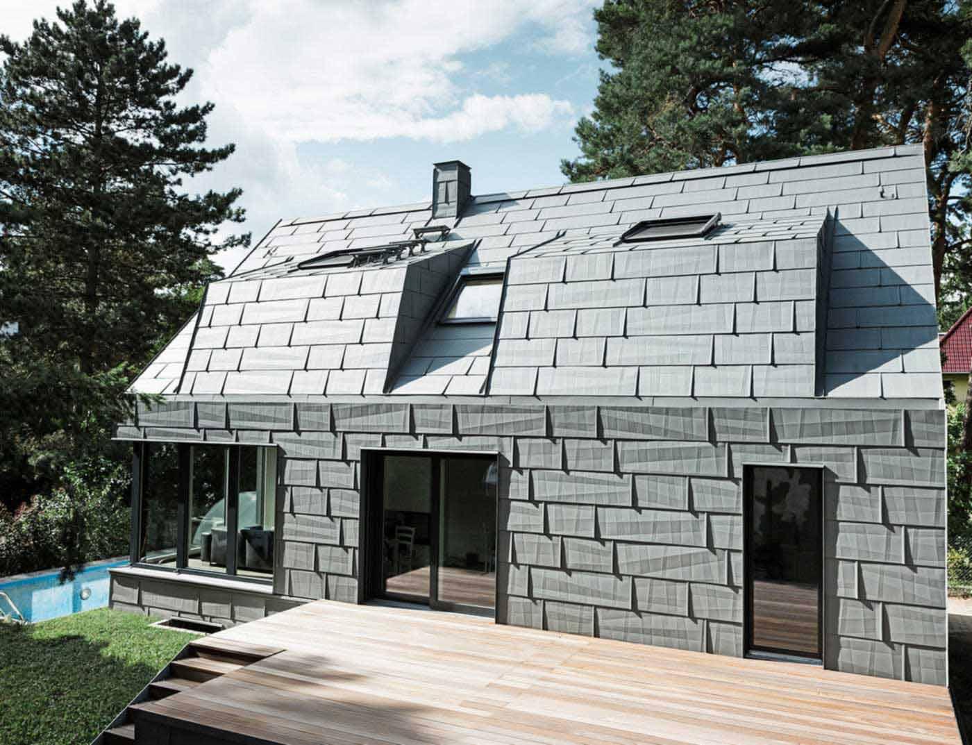 prefa france rev tements modernes du toit. Black Bedroom Furniture Sets. Home Design Ideas